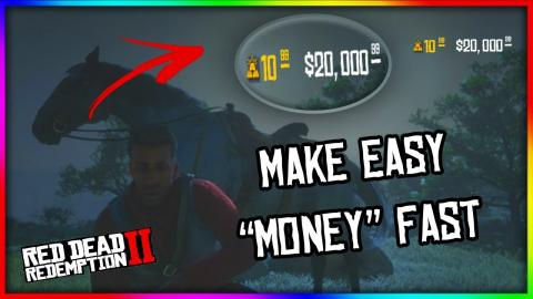 MAKE FAST EASY MONEY ON RED DEAD 2 ONLINE (FASTEST WAY TO
