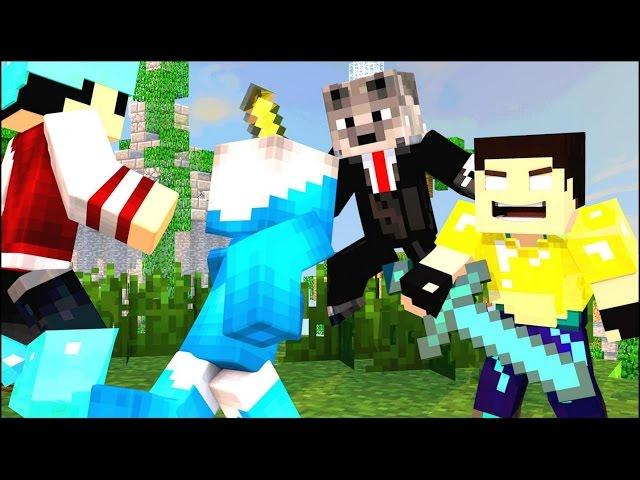 Minecraft - SKY WARS DA SORTE AZUL!! #4 A FINAL MAIS ÉPICA DE TODAS!!