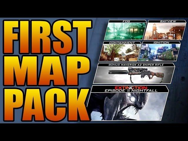 Call of Duty: Ghosts - ONSLAUGHT DLC! Scrapyard Remake, Mike Myers, Maverick Gun (Ghost Map Pack 1)