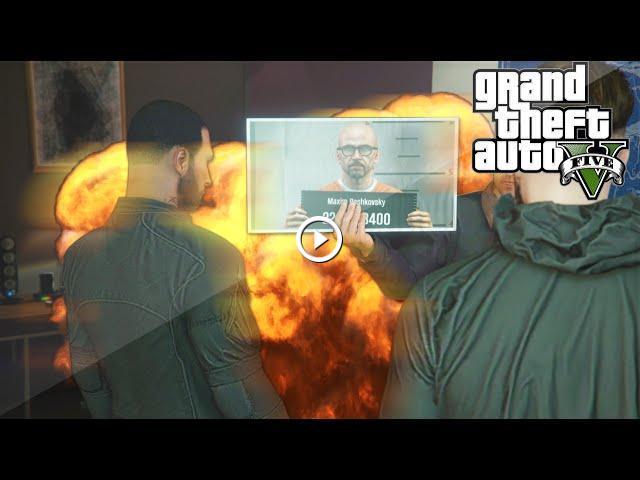 The Prison Break Setup Gta 5 Heist Funny Moments W Sidemen Gta V Online