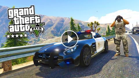 GTA 5 PC Mods - PLAY AS A COP MOD #15! GTA 5 Police Patrol