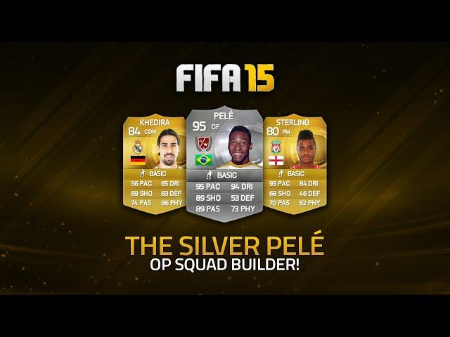 THE SILVER PELÉ! w/ SQUAD BUILDER! | FIFA 15 Ultimate Team