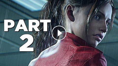 Resident Evil 2 Remake Walkthrough Gameplay Part 2 Mr X Re2 Claire