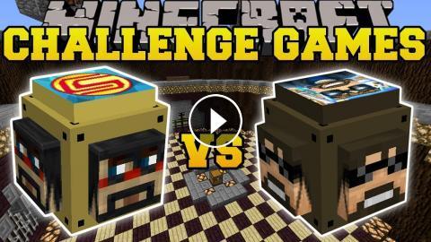 Minecraft: SSUNDEE VS CAPTAINSPARKLEZ CHALLENGE GAMES