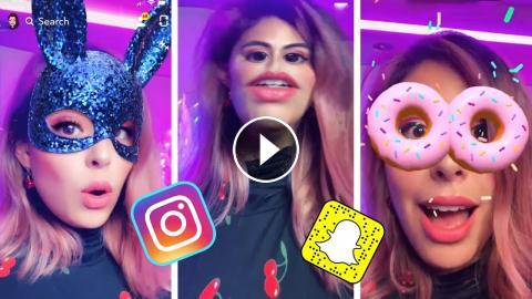 The Coolest Face Filters You NEED To TRY!