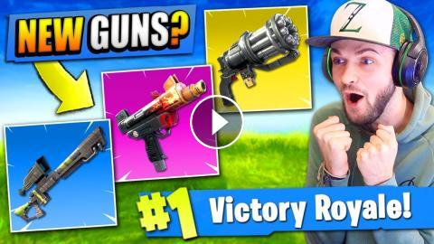 Over 5 New Guns That Should Be In Fortnite Battle Royale
