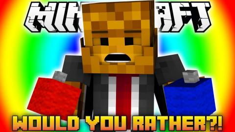 Minecraft WOULD YOU RATHER?
