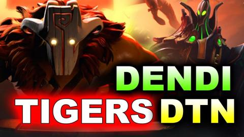 Dendi Back to Tigers Again?! Battlecup Series - Dota 2