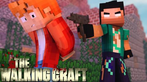 Minecraft: #11 O PRISIONEIRO! (THE WALKING CRAFT 3ª TEMP)