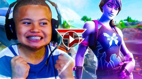 is my little brother good enough to join faze clan watch this and decide fortnite battle royale - faze clan fortnite join