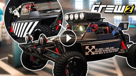 EPIC OFF-WHITE WRAPPED DIRT BUGGY! (The Crew 2)