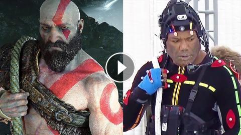 God Of War Ps4 Behind The Scenes W Kratos