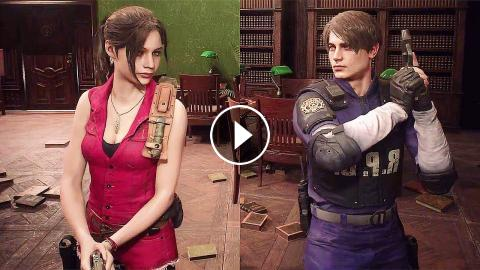 resident evil 2 remake walkthrough claire