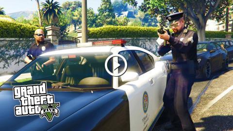GTA 5 PC Mods - PLAY AS A COP MOD #2! NEW UPDATED GTA 5
