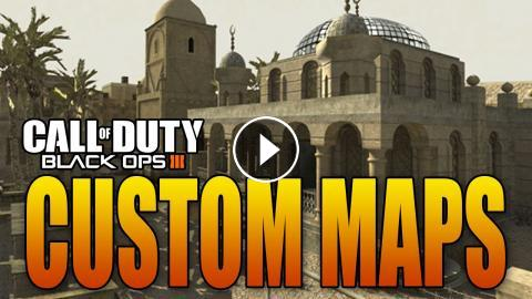 CUSTOM MAP CREATOR IN BO3! MULTIPLAYER AND ZOMBIES! (Black ...
