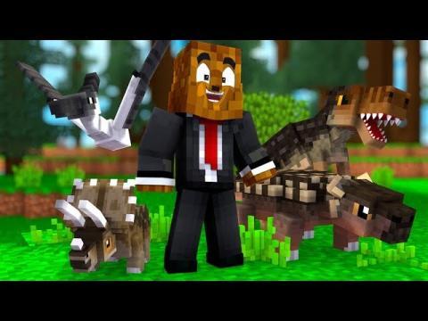 A New Beginning In Dino Land - Minecraft Jurassicraft Dinos