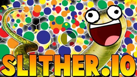 first try world record slither io the new agar io big snake