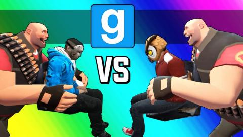 Gmod Hockey: Vanoss Vs. Delirious! (Garry's Mod Sandbox Funny Moments)