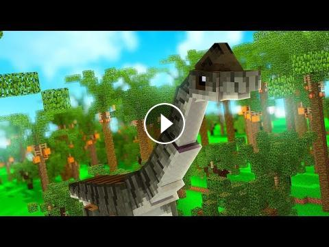 The Biggest Dino To EVER Exist - Minecraft Jurassicraft